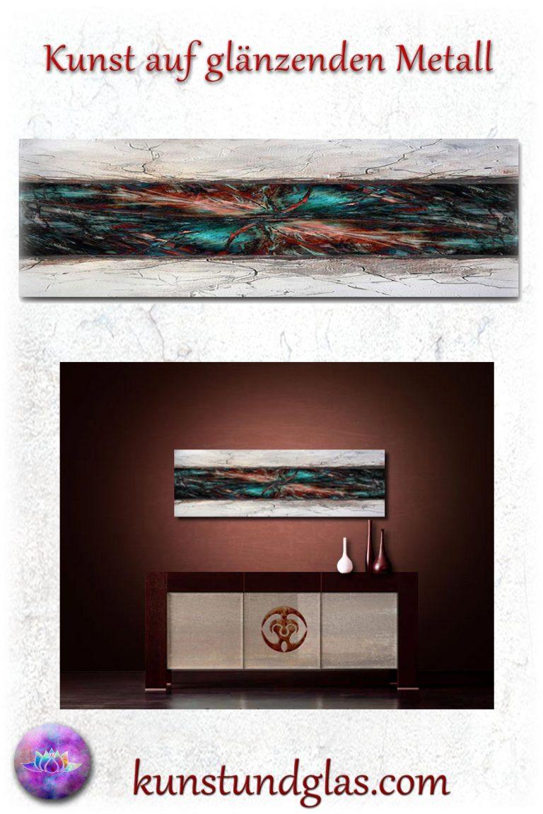 metallbilder moderne abstrakte kunst bilder. Black Bedroom Furniture Sets. Home Design Ideas