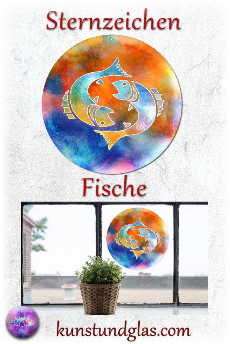 #Fensterbild ✯ #Fische Nr. 02. Sonnen #Lichtfänger #Fenster #Glas #Bild #Dekoration #Astrologie #Geschenk Tierkreiszeichen - Eigenschaften: tapfer, willensstark, #fleißig, risikofreudig, missmutig, ungeduldig, gewaltbereit Material: künstlerisch gestaltetes Acrylglas mit Loch zum aufhängen. Wunderschöner künstlerisch gestalteter #Sonnenfänger mit leuchtenden Farben. Farbenprächtige #Fensterdekoration auch für den Außenbereich wie Balkon, Terrasse oder Garten sehr gut geeignet.