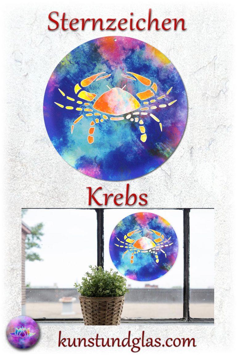 #Fensterbild ✯ #Krebs Nr. 06. Sonnen #Lichtfänger #Fenster #Glas #Bild #Dekoration #Astrologie #Geschenk Tierkreiszeichen - Eigenschaften: tapfer, willensstark, #fleißig, risikofreudig, missmutig, ungeduldig, gewaltbereit Material: künstlerisch gestaltetes Acrylglas mit Loch zum aufhängen. Wunderschöner künstlerisch gestalteter #Sonnenfänger mit leuchtenden Farben. Farbenprächtige #Fensterdekoration auch für den Außenbereich wie Balkon, Terrasse oder Garten sehr gut geeignet.