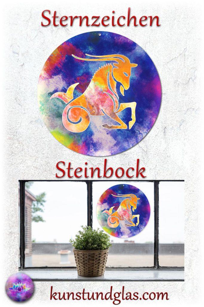 #Fensterbild ✯ #Steinbock Nr. 12. Sonnen #Lichtfänger #Fenster #Glas #Bild #Dekoration #Astrologie #Geschenk Tierkreiszeichen - Eigenschaften: tapfer, willensstark, #fleißig, risikofreudig, missmutig, ungeduldig, gewaltbereit Material: künstlerisch gestaltetes Acrylglas mit Loch zum aufhängen. Wunderschöner künstlerisch gestalteter #Sonnenfänger mit leuchtenden Farben. Farbenprächtige #Fensterdekoration auch für den Außenbereich wie Balkon, Terrasse oder Garten sehr gut geeignet.
