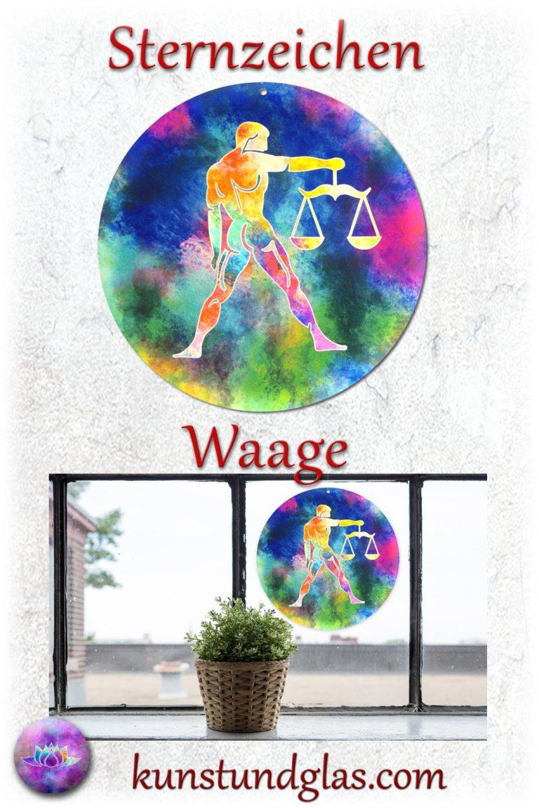 #Fensterbild ✯ #Waage Nr. 03 #Wassermann Sonnen #Lichtfänger #Fenster #Glas #Bild #Dekoration #Astrologie #Geschenk Tierkreiszeichen - Eigenschaften: tapfer, willensstark, #fleißig, risikofreudig, missmutig, ungeduldig, gewaltbereit Material: künstlerisch gestaltetes Acrylglas mit Loch zum aufhängen. Wunderschöner künstlerisch gestalteter #Sonnenfänger mit leuchtenden Farben. Farbenprächtige #Fensterdekoration auch für den Außenbereich wie Balkon, Terrasse oder Garten sehr gut geeignet.