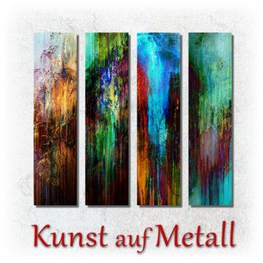Galeriebild- 4 Metallbilder